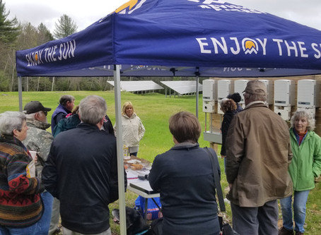 Close Up and Personal at Solar Open Houses