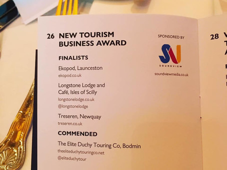 GOLD: Cornwall Tourism Awards