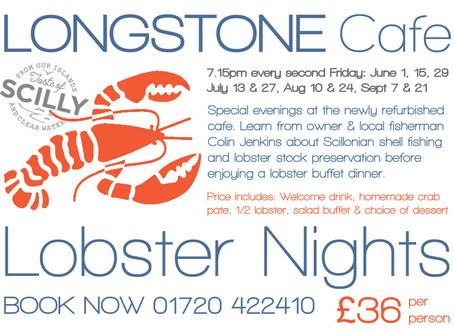 Longstone Café Lobster Nights