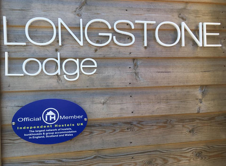 Phew! We are finished.... Welcome to Longstone Lodge