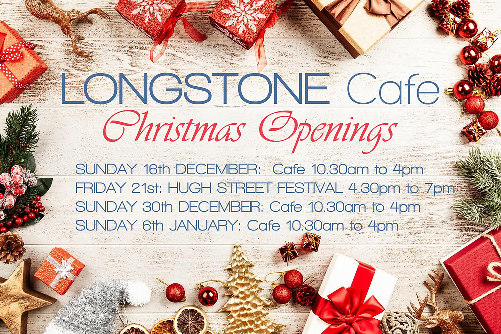 Festive Cafe Opening Times