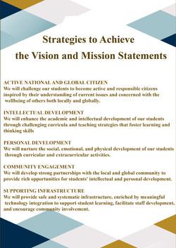 Strategies to Achieve