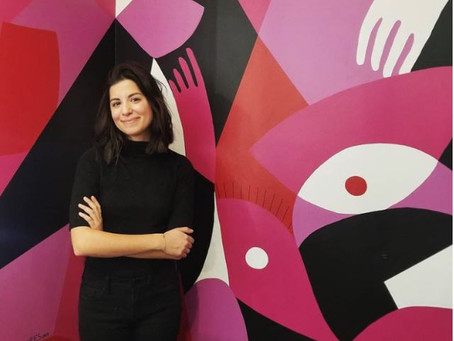 Making the Leap from Corporate America to the Art World: Liz Flores Visits John Carroll University
