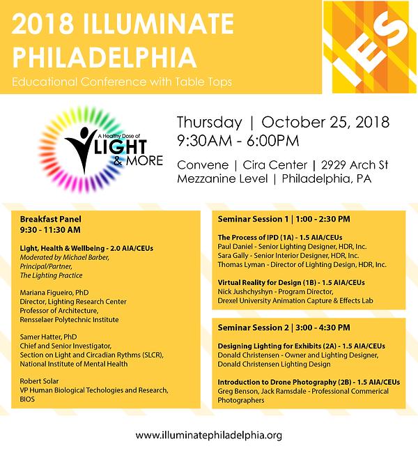 2018 Illuminate Conference Digital Flyer