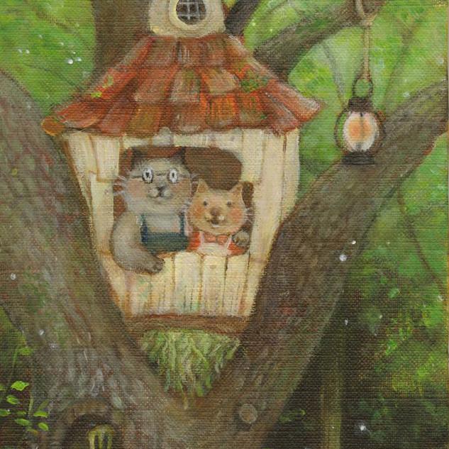 木の上のちいさな家