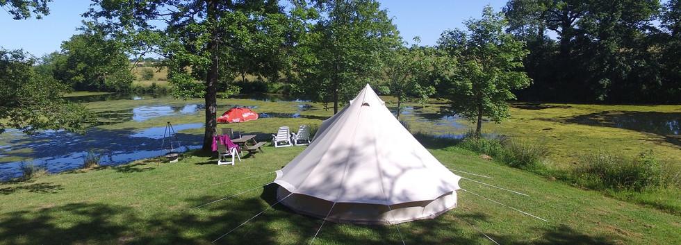 Lake tente