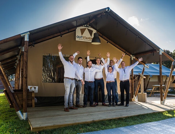 new glamping team