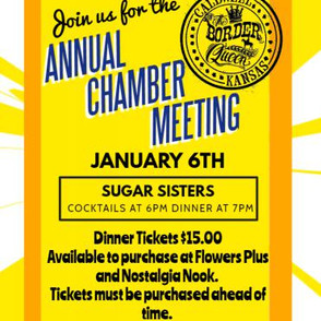 Annual Meeting January 6th