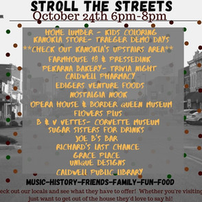 "Chamber Presents ""Stroll the Streets"""