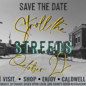 Stroll the Streets is on... so far