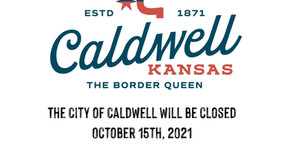 City Offices Closed October 15th
