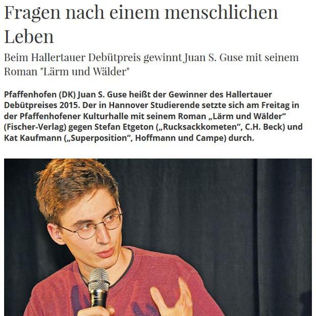 PK   Hallertauer Debütpreis