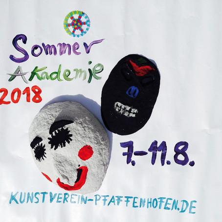 Kinder-Sommerakademie des Kunstvereins im August