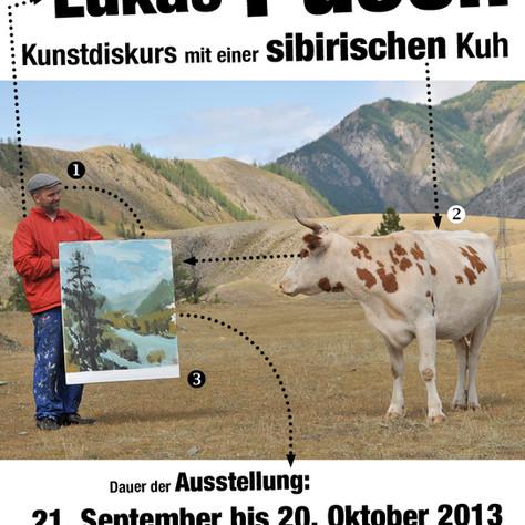 LUKAS PUSCH - Kunstdiskurs mit einer sibirischen Kuh