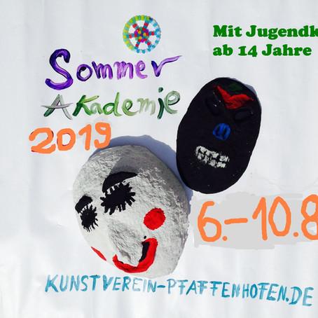 Die Sommerakademie des Kunstvereins für Kinder – mit Jugendkurs