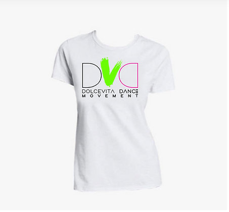 DVDM T-shirt white