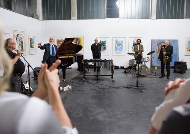 Markus Lüpertz und Band (Mykenisches Lächeln, 2014)