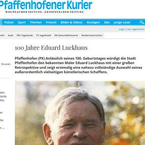 PK   100 Jahre Eduard Luckhaus