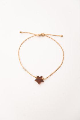 Bracelet étoile Ambre