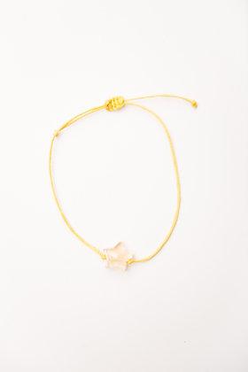Bracelet étoile Citrine
