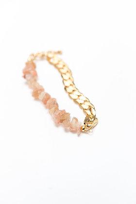 N°16 Bracelet Demi Pierres