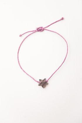 Bracelet étoile Fluorite