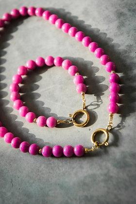 "Bracelet ""COLORS"" Jade rose"