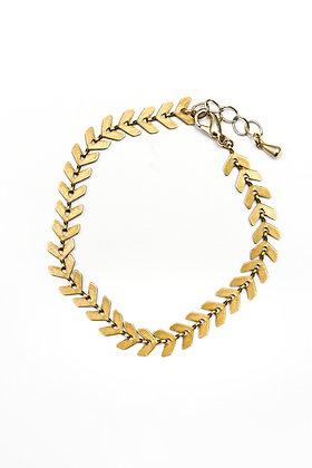 N°1 Bracelet maille flèche