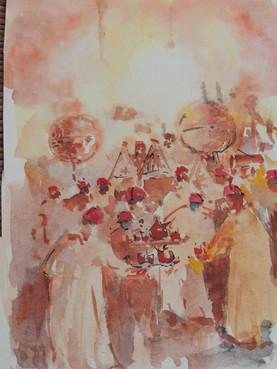 Un mariage à Rabat - Carnet de voyage