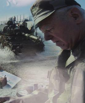 L'artiste en mission Terre et Marine - Plage de Maguelonne - Photo