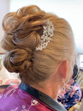 mother of the bride/groom updo