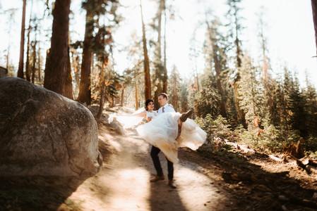 Snow White Yosemite Elopement