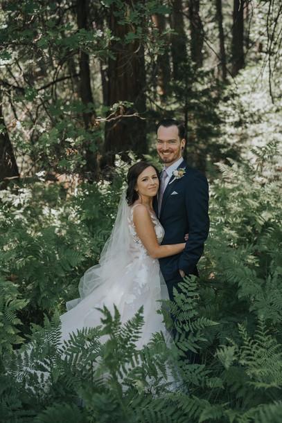 Yosemite Elopement Bridal Hair and Makeup