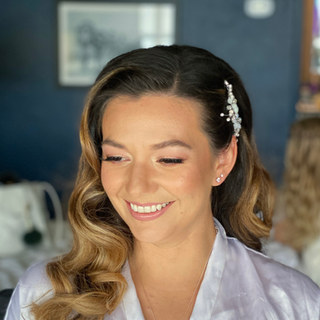 Rose Gold Bridal Makeup for Monterey Beach Bride