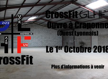 Ouverture prochaine de Crossfit GLHF à Craponne