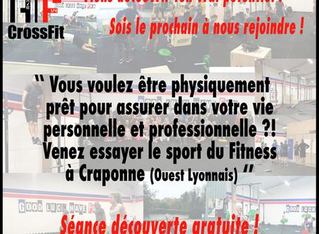 Venez tester et améliorer votre fitness à CrossFit GLHF