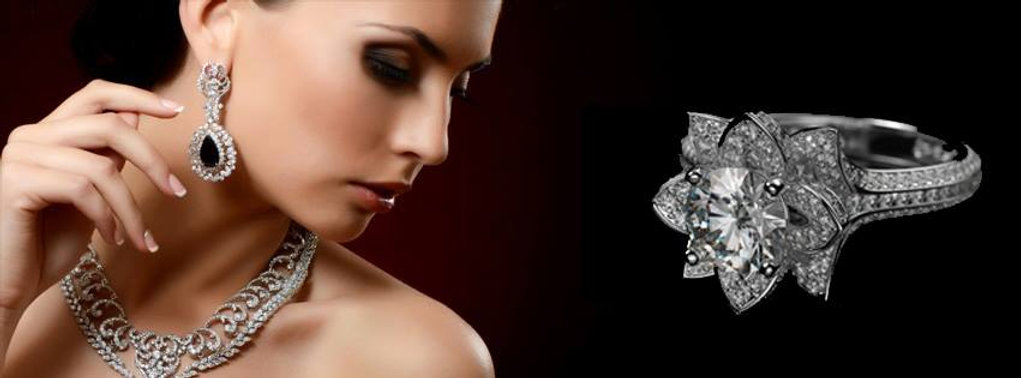 Sapphire and diamond earrings, diamond ring