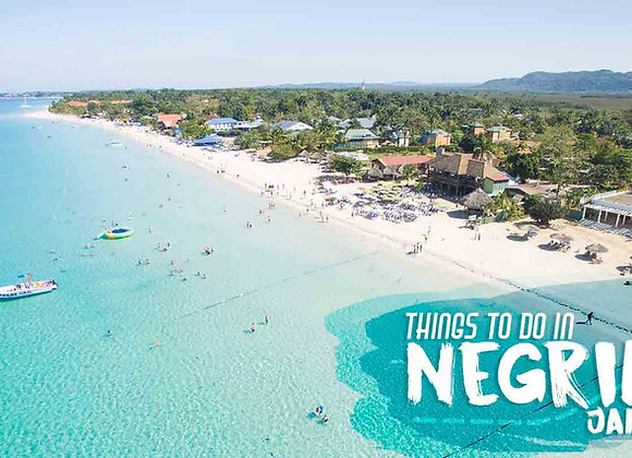 MONTEGO BAY AIRPORT TO NEGRIL