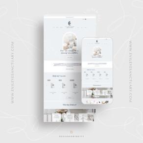 Website Design Spotlight: Evil Eye Sanctuary