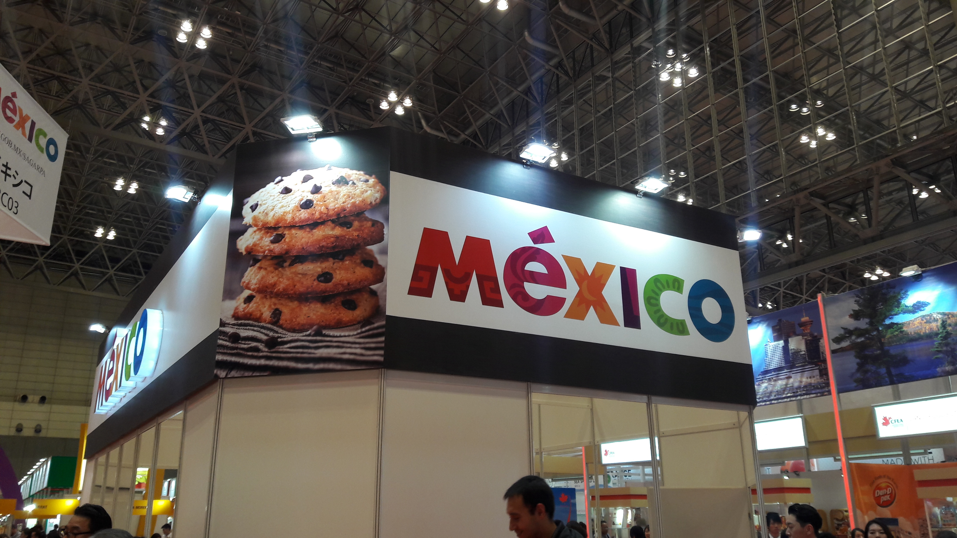 Foodex Mexico booth