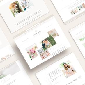 Custom Brand and Showit Website Design for Casey Hendrickson Photography