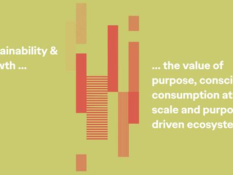 Sustainability & Growth Ad World 2021 talk.