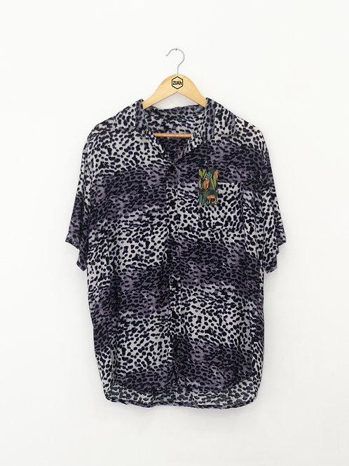 """Camisa Estampada ZIAh """"Onçaí"""""""