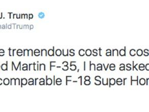 Comment bouleverser le secteur de la défense Américaine en 140 caractères: le cas de Donald Trump et
