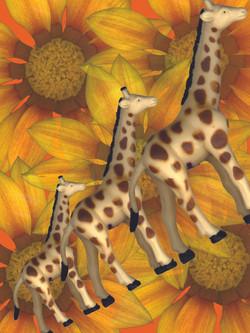 Giraffes on Parade