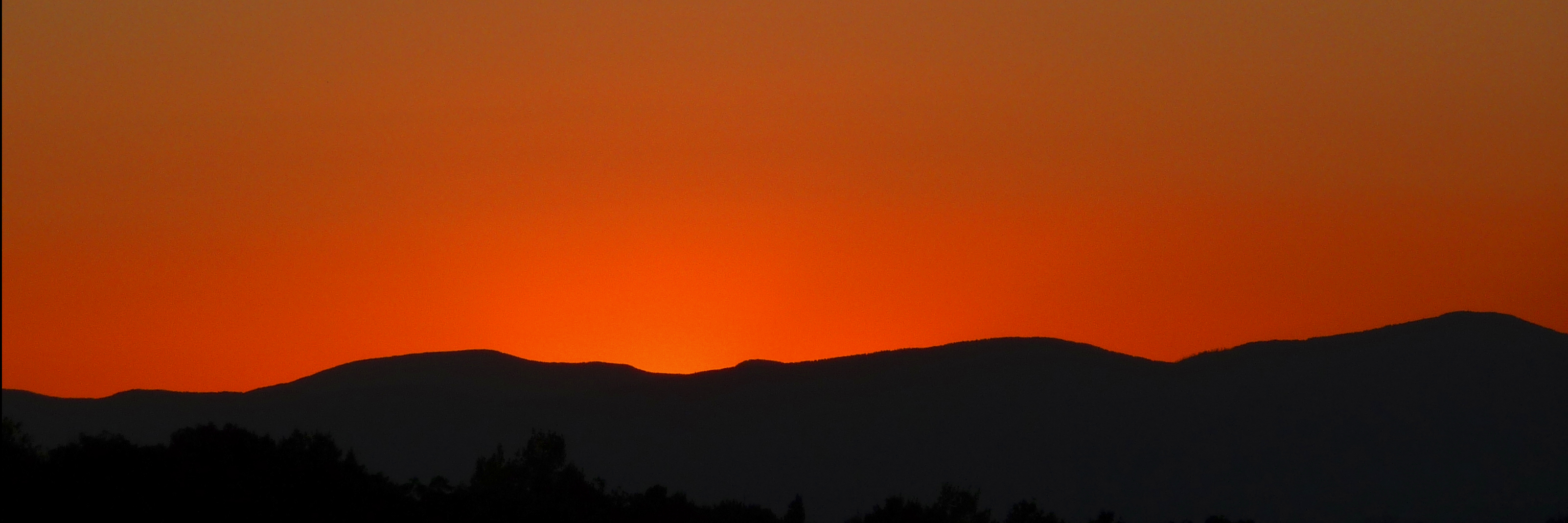 sunset 10x30
