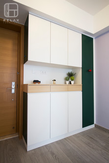cabinet with magnet board