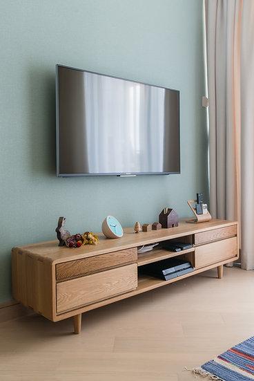 2 Tone TV Cabinet