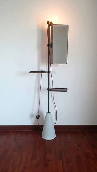 Cement Lamp with mirror