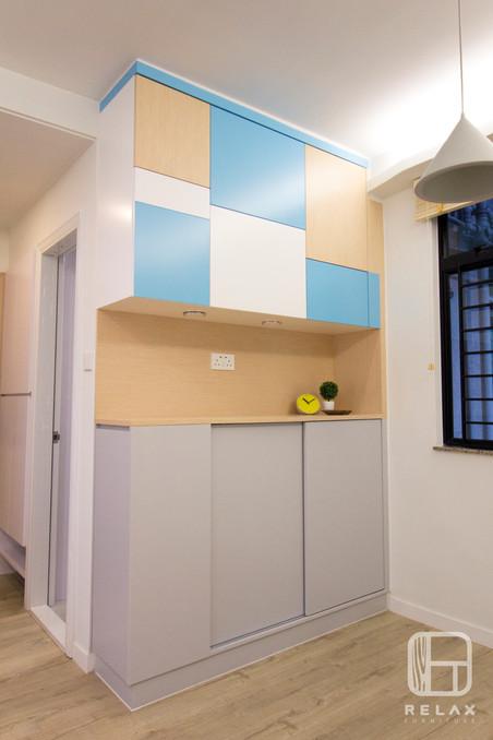 mix color cabinet